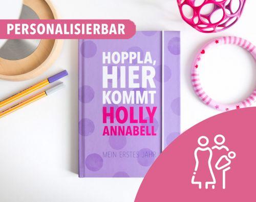 Personalisiertes Babybuch für Mamas & Papas
