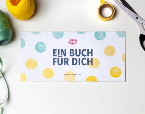 Babybuch als Geschenkkarte